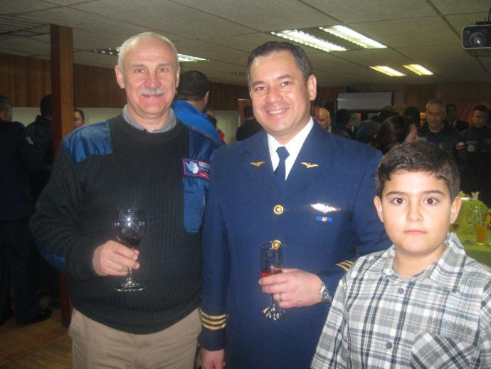С чилийским коллегой Гвидо