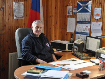 Я — начальник российской антарктической станции «Беллинсгаузен», в рабочем кабинете