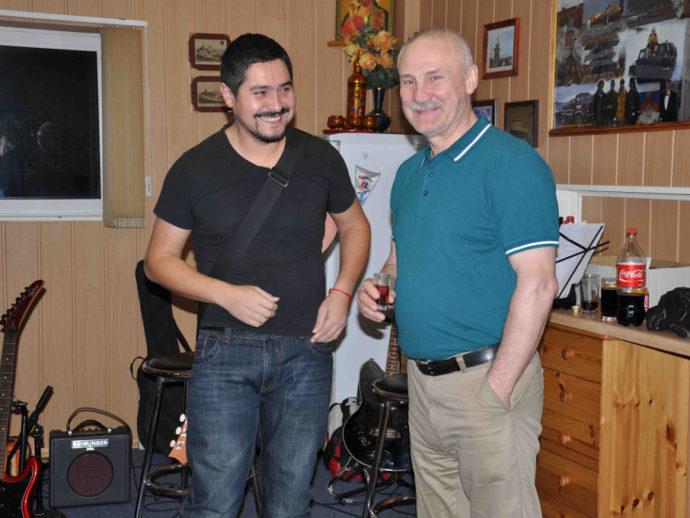 С Эриком из музыкальной группы «Лос Навадос»