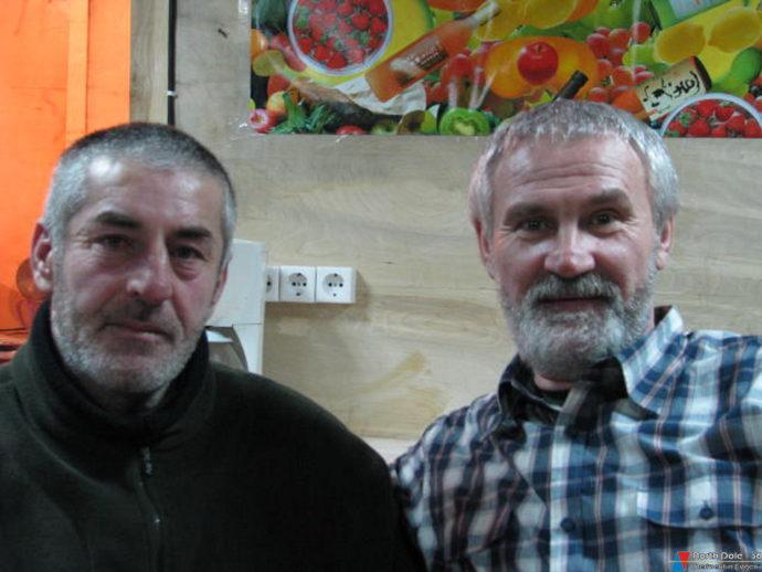 Я и мой друг Гали Кумышев