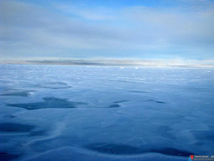 Там, в массиве и находиться наша будущая ледяная платформа