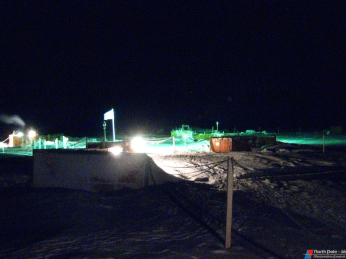 Станция в полярной ночи