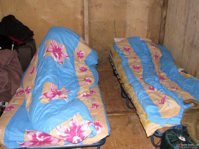 Временные кровати