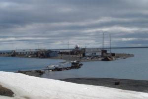 Вид на станцию, мостик