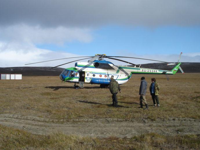 Наш вертолет