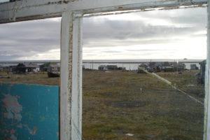 Вид на поселок из окна