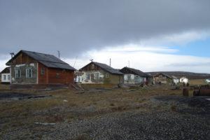 Вид поселка Ушаковский