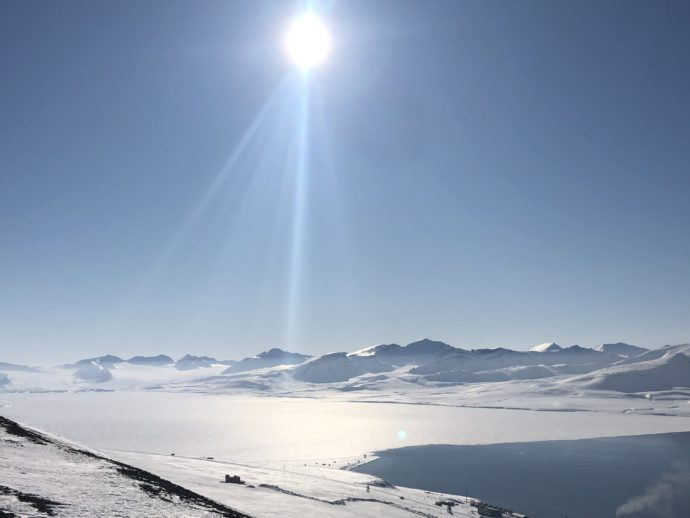 Landfast Grenfjord